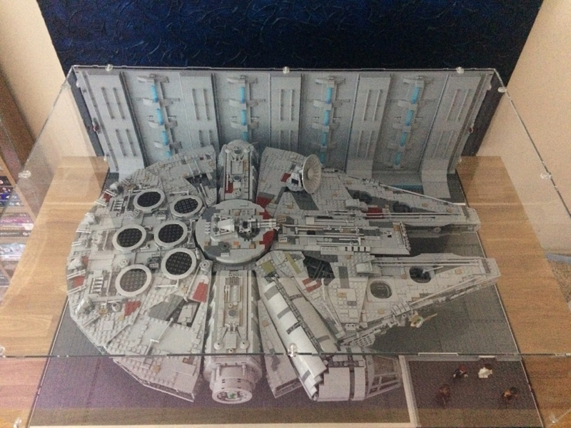 Lego Moc 16224 Hangar Bay Display Space 2018